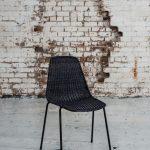 Basket Chair – Charcoal (2)