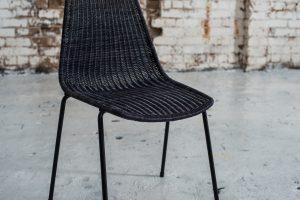 Basket Chair – Charcoal (3)